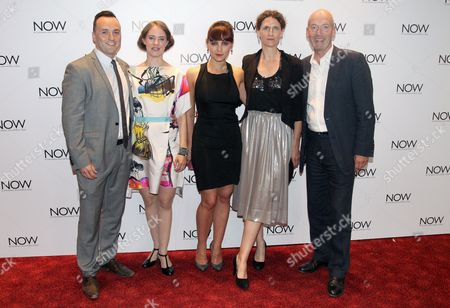 Simon Lee Phillips, Katherine Manners, Annabel Scholey, Hannah Stokely and Gary Powell