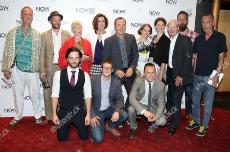 Jeremy Whelehan, Gemma Jones, Haydn Gwynne, Kevin Spacey, Katherine Manners, Hannah Stokely, Gary Powell and Simon Lee Phillips
