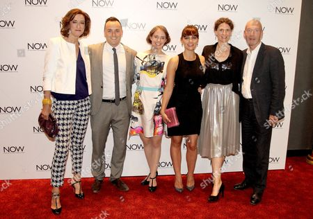 Haydn Gwynne, Simon Lee Phillips, Katherine Manners, Annabel Scholey, Hannah Stokely and Gary Powell