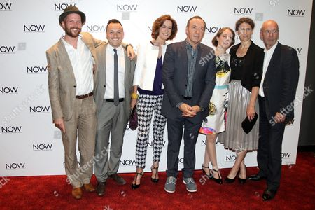 Jeremy Whelehan, Simon Lee Phillips, Haydn Gwynne, Kevin Spacey, Katherine Manners, Hannah Stokely and Gary Powell