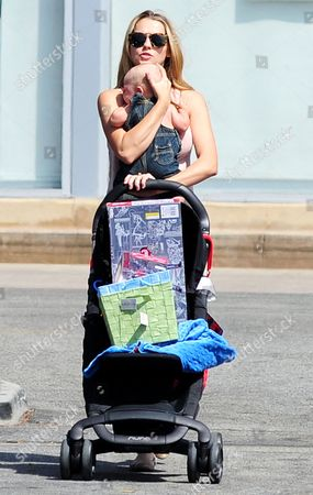 Editorial picture of Teresa Palmer out and about, Los Angeles, America - 09 Jun 2014