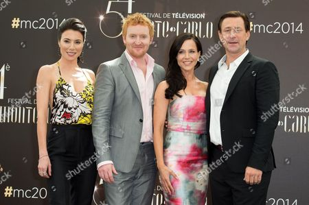 Jaime Murray, Tony Curran, Julie Benz and Grant Bowler