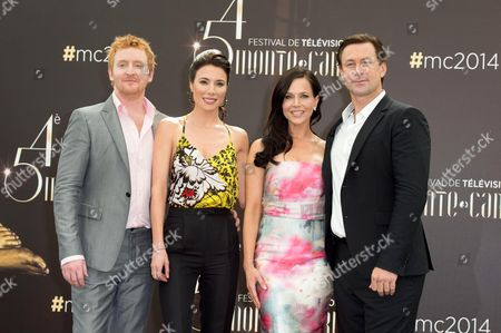 Tony Curran, Jaime Murray, Julie Benz and Grant Bowler