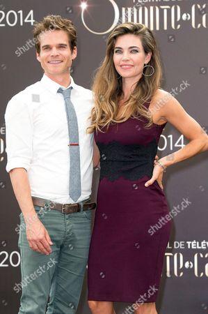 Greg Rikaart and Amelia Heinle