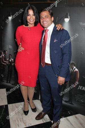 Kathrine Narducci and Joseph Russo