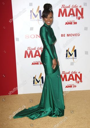 Editorial image of 'Think Like a Man Too' film premiere, Los Angeles, America - 09 Jun 2014