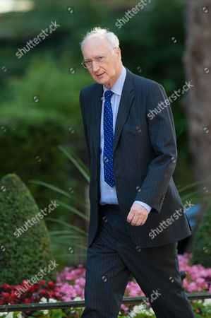 Chief Whip Sir George Young arrives at 10 Downing Street.