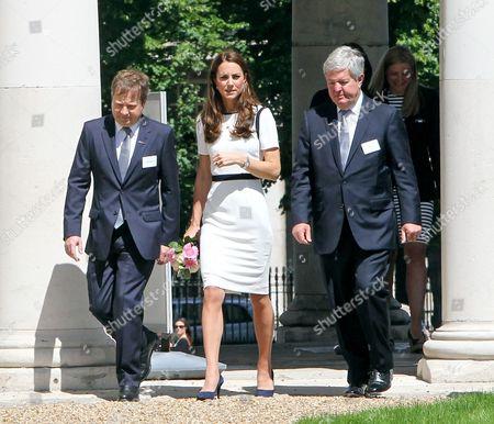 Sir Charles Dunstone, Catherine Duchess of Cambridge, Sir Keith Mills