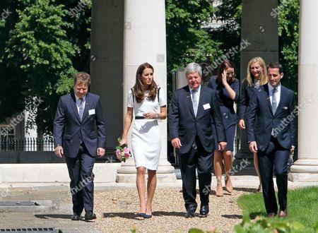 Sir Charles Dunstone, Catherine Duchess of Cambridge, Sir Keith Mills, Ben Ainslie