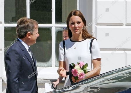 Sir Charles Dunstone, Catherine Duchess of Cambridge