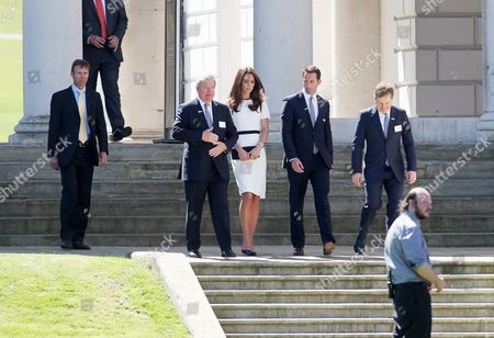 Catherine Duchess of Cambridge, Sir Keith Mills, Ben Ainslie, Sir Charles Dunstone