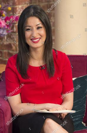Editorial photo of 'This Morning' TV Programme, London, Britain - 10 Jun 2014
