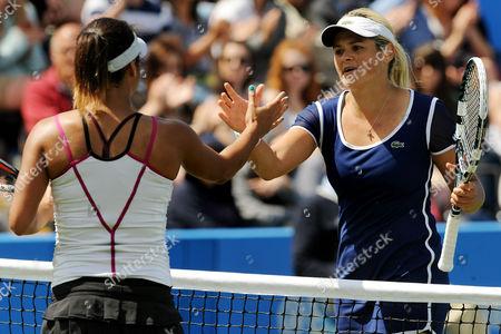 Heather Watson loses to Aleksandra Wozniak