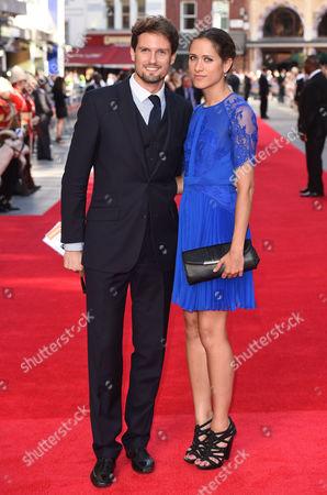 Stephen Bowman and girlfriend Tainá Vilela