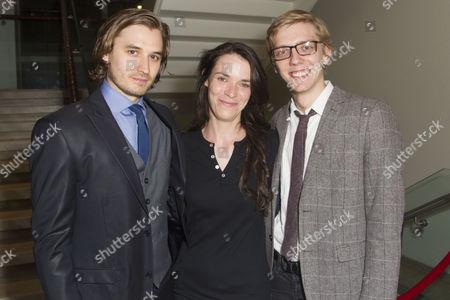 Seth Numrich, Caoilfhionn Dunne and Joshua James