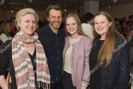 Caroline Harker, Anthony Calf, Cecilia Calf and Louise Calf
