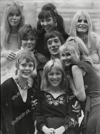 Stock Image of Television Programme 'billy Liar'. Moira Foot Caroline Dowdeswell Cheryl Murray Brenda Cavendish Jeff Rawle Mary Ashton And Sue Bond. *for Positions - See Versions*.