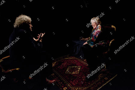 Professor Laurie Taylor and Fay Weldon