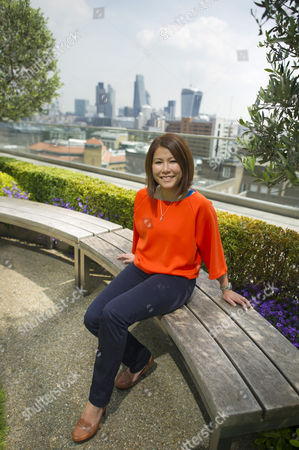 Ping Coombes, crowned MasterChef champion 2014 at the Blue Fin Building in South London.