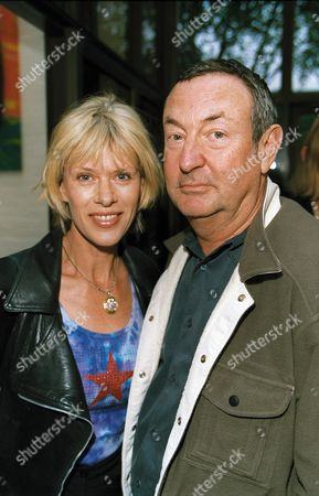 Stock Picture of NICK MASON AND WIFE ANNETTE MASON