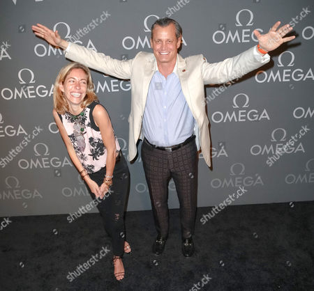 Editorial picture of OMEGA Speedmaster Dark Side of the Moon Launch Event, New York, America - 10 Jun 2014