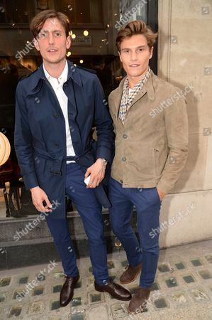 Stock Photo of Morgan Watkins and Oliver Cheshire