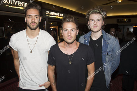 Andy Brown, Adam Pitts and Joel Peat