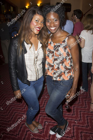 Stock Picture of Joelle Moses and Carole Stennett