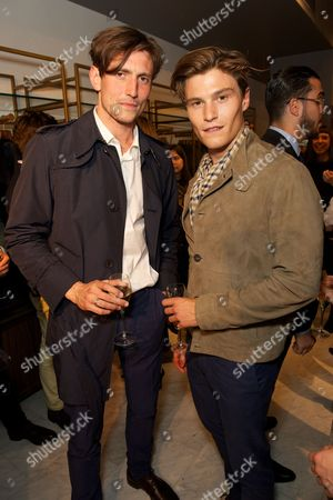 Morgan Watkins and Oliver Cheshire