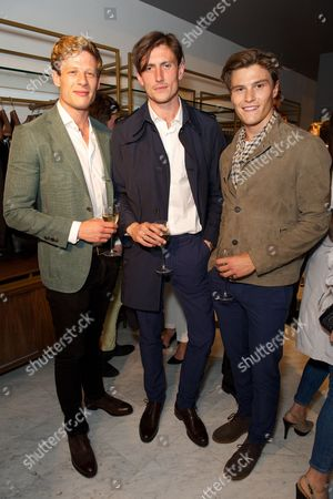 James Norton, Morgan Watkins and Oliver Cheshire