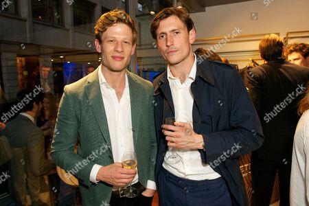 Editorial picture of Aquascutum Men's Store launch, London, Britain - 11 Jun 2014