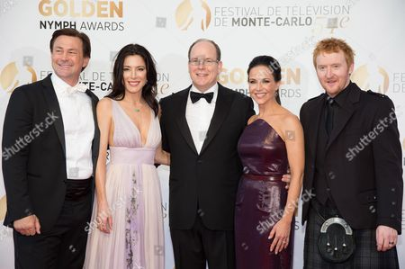 Grant Bowler, Jaime Murray, Prince Albert II of Monaco, Julie Benz and Tony Curran