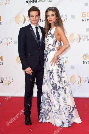 Amelia Heinle and Greg Rikaart