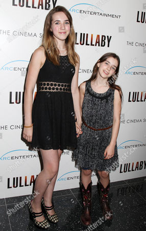 Editorial picture of 'Lullaby' film screening at the Cinema Society, New York, America - 11 Jun 2014