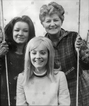 Actresses L-r: Kate O'mara Belinda Carroll And Hazel Bainbridge.