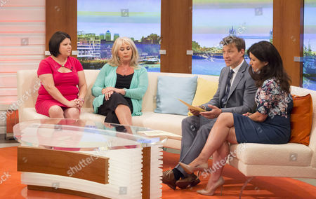 Ursula Hirschon and Carole Malone with Ben Shephard and Susanna Reid