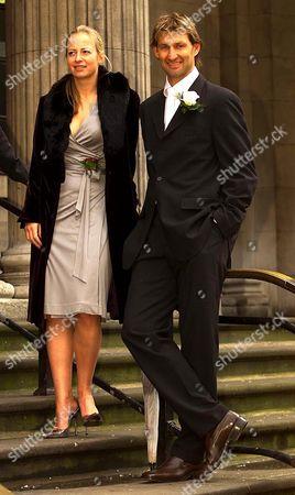 Tony Adams and girlfriend Poppy Teacher