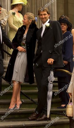 Editorial picture of PAUL MERSON'S MARRIAGE TO LOUISE AT WESTMINSTER REGISTRY OFFICE, LONDON, BRITAIN - MAY 2002