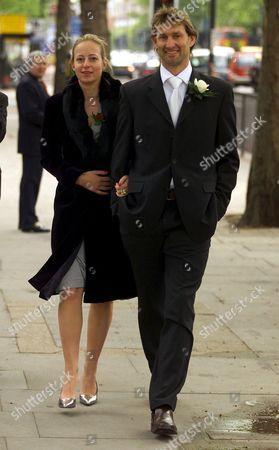 Stock Picture of Tony Adams and girlfriend Poppy Teacher