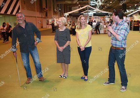 Paul Hollywood, Mary Berry, Lisa Faulkner and Diarmuid Gavin