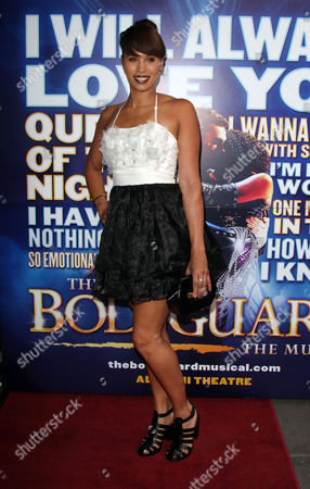 Editorial picture of 'The Bodyguard' musical cast change, London, Britain - 11 Jun 2014