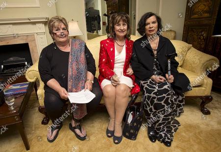 Jenni Murray, Baroness Helena Kennedy, Bianca Jagger