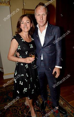 Annabel Stringer and Simon Mills