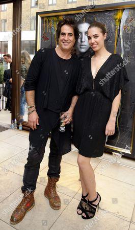 Raphael Mazzucco and Amber Le Bon