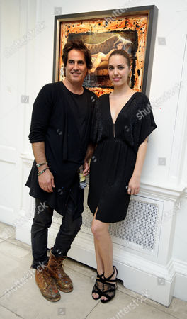 Editorial image of Raphael Mazzucco 'Montauk' private viewing, London, Britain - 12 June 2014