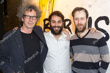 Editorial photo of 'Mr Burns' after party on Press Night at the Almeida Theatre, London, Britain - 12 Jun 2014