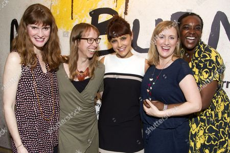 Editorial picture of 'Mr Burns' after party on Press Night at the Almeida Theatre, London, Britain - 12 Jun 2014
