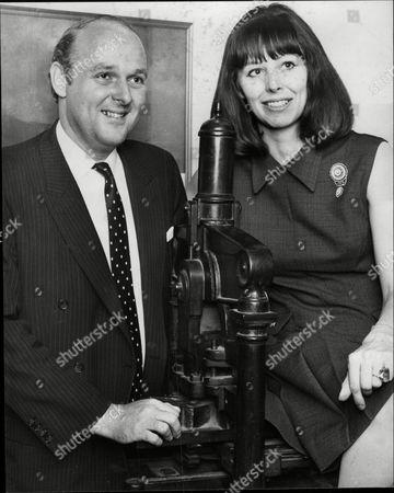 Ian Mccorquodale And Fiancee Anna Chisholm. Ian Is The Son Of Author Barbara Cartland.