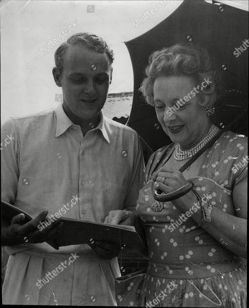 Barbara Cartland And Her Son Ian Mccorquodale.