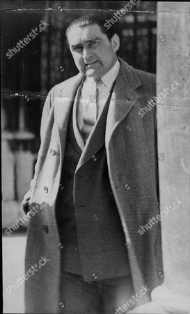 Actor Francis De Wolff. Divorce Case.